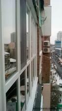 Панорамное остекление балкона aluplast Ideal4000 — Вікна Експрес