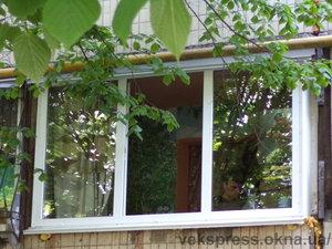 Остекление лоджии — Вікна Експрес