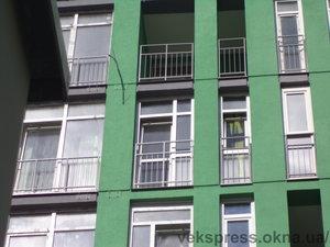 Скління французького балкона — Вікна Експрес
