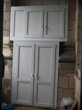 Шкаф из оконного профиля — Вікна Експрес