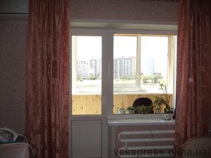 Балконный блок WDS в квартире — Вікна Експрес