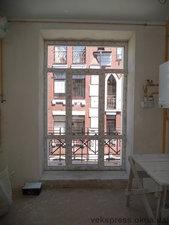 Панорманый выхожд на балкон — Вікна Експрес