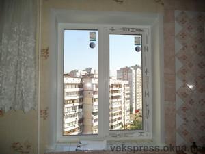 Двухчастное окно — Вікна Експрес