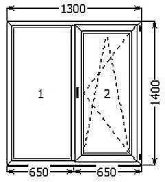 Окна Чернигов из профиля ALMplast