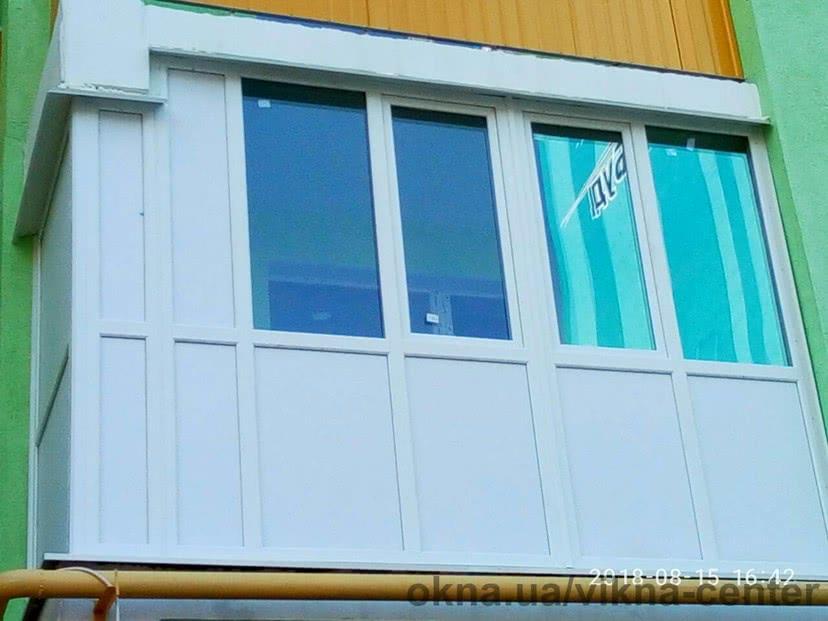 Французский балкон в новострое