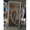 Двері с круглими імпостами