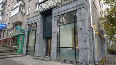 Ювелирный магазин - Структурный стеклянный фасад — Викно Гласс