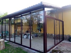 Алюминиевая стеклянная пристройка — Викно Гласс