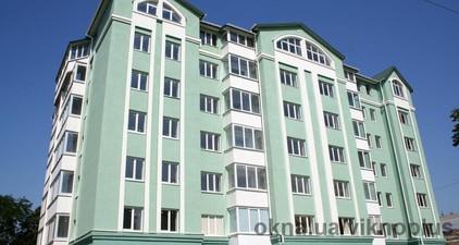 Многоэтажный жилой дом — ТМ ВікноПлюс