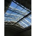 Скляний дах, зенітний ліхтар, атріум