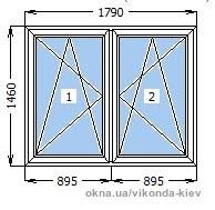 Окно c максимальной теплоизоляцией