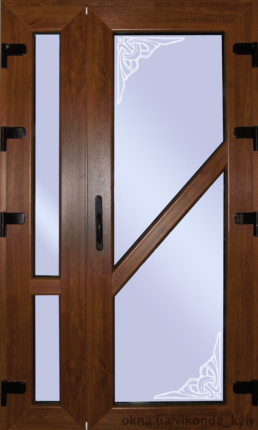 Ламинированные входные двери Киев 900х2100