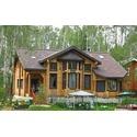 Остекление частных домов из дерева