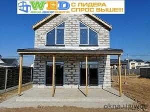 Установка трапеции из Veka Softline 70 в Киеве и области — Вікна Декор Енергія (WDE)