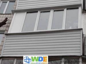 Вынос балкона — Вікна Декор Енергія (WDE)