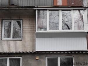 Остекление квартиры+балкон — Вікна Декор Енергія (WDE)