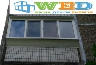 Раздвижная система. Остекление квартиры Киев. — Вікна Декор Енергія (WDE)