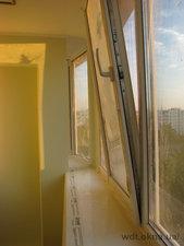 Балкон с отделкой под ключ — ВДТ (Віконно-Дверні Технології)