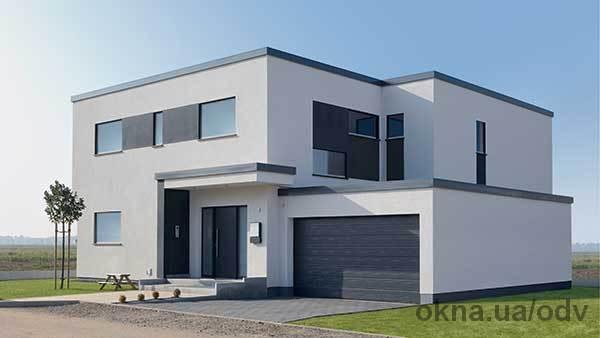 Модель двухэтажного дома