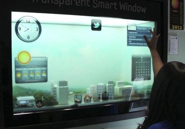 Samsung Transparent Smart Window
