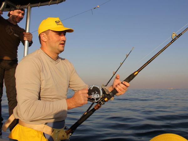 Рыбалка в Персидском заливе