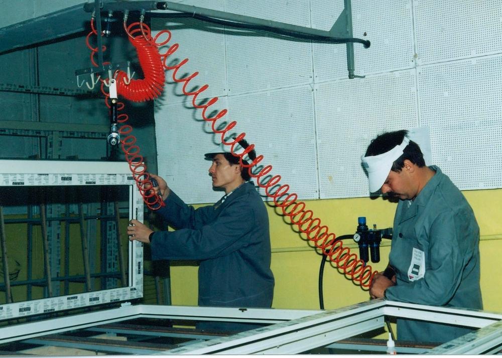 Віконне виробництво компанії Енран