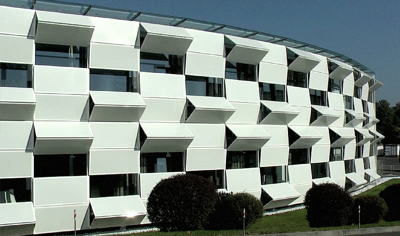 Кинетический фасад