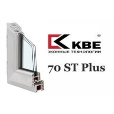 Окна КВЕ в Киеве, профиль KBE 70 st Plus.