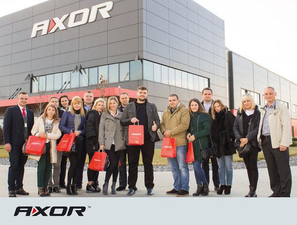 AXOR INDUSTRY посетили партнеры из Молдовы.