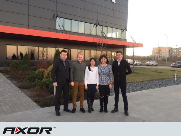 AXOR INDUSTRY посетили партнеры из Казахстана.