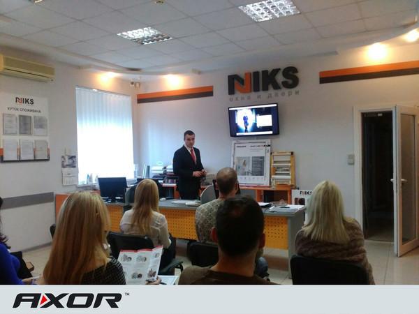 Компания AXOR INDUSTRY провела семинар для сотрудников «Никс-М»