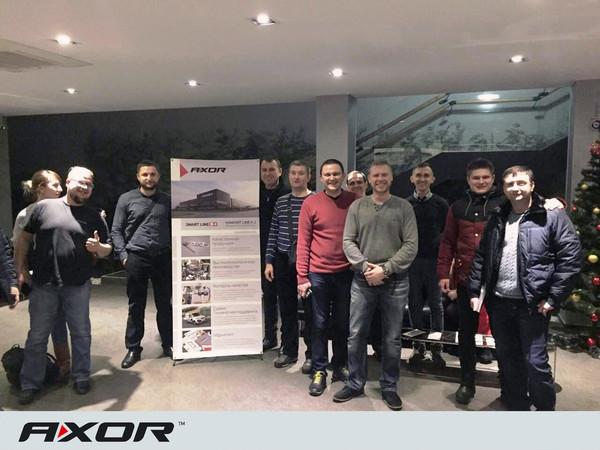 Представители DarWin Ukraine посетили завод AXOR INDUSTRY.