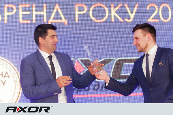 Фурнитура AXOR получила звание «Бренд Года-2017»