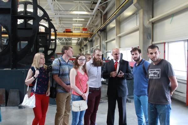 Завод AXOR посетили ТОП-менеджеры компаний и представители Европейской Бизнес Ассоциации