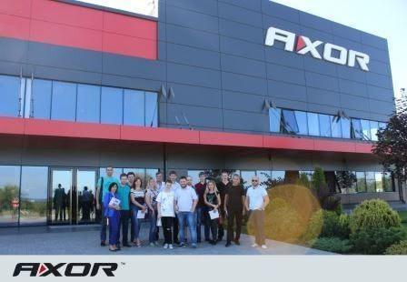 В AXOR Academy прошел семинар для дилеров компании Wintera