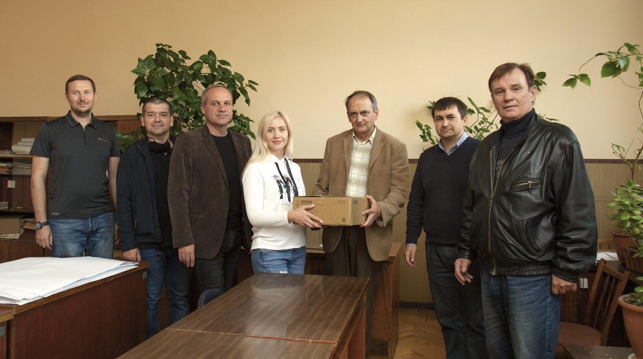 AXOR INDUSTRY поздравили с юбилеем Приднепровскую государственную академию строительства и архитектуры