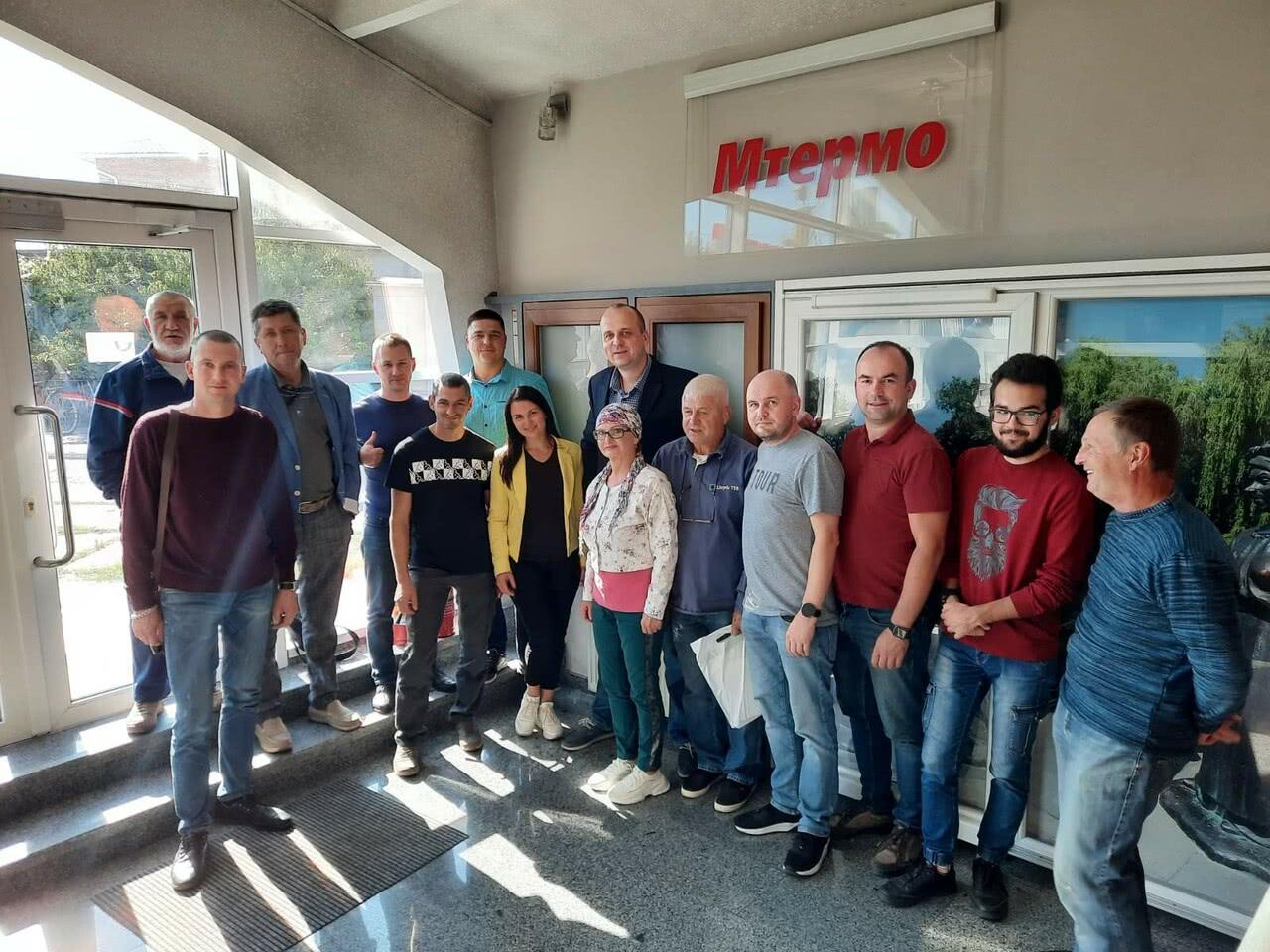 AXOR провел семинар для дилеров и монтажников «ООО Мтермо»