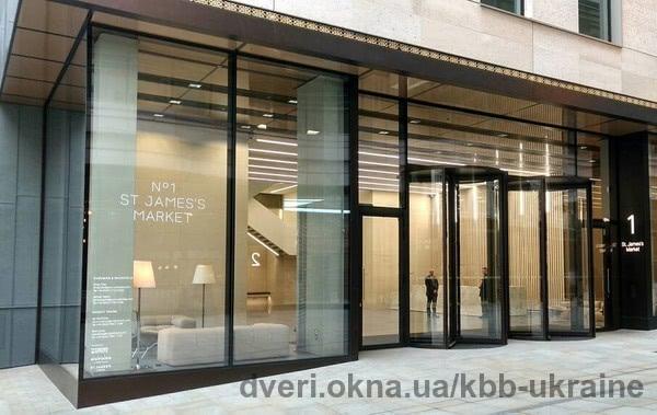 Красивое и функциональное дверное решение KBB в The City of London