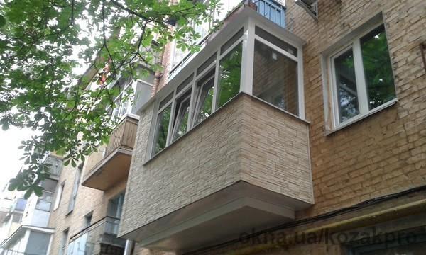 Новый проект: балкон под ключ в Чернигове