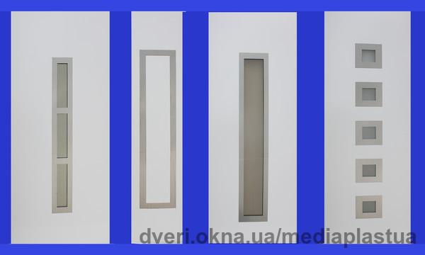 Новинка от компании Медиа-Пласт Украина: серя HI-TEC - сэндвич-панели (заполнения дверные) для металлопластиковых дверей