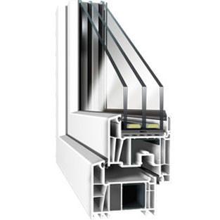 Новый тёплый профиль DECCO 82 для 3х-камерного стеклопакета