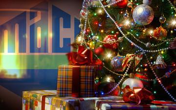 Компания MACO поздравляет с новогодними и рождественскими праздниками!