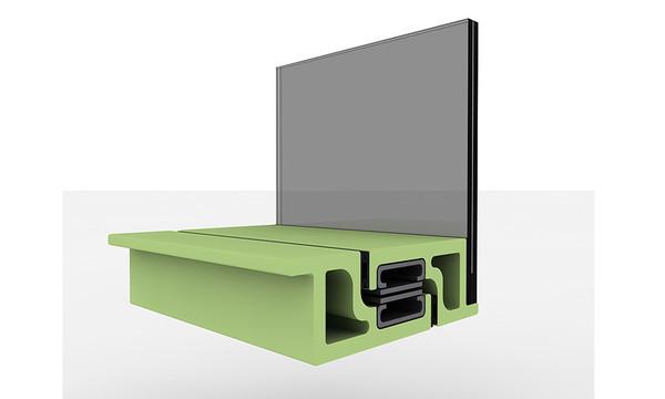 Немецкие ученые разработали теплую трехкамерную профильную систему для пассивных домов
