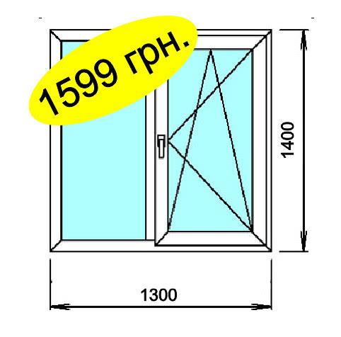 Окно за 1599 грн