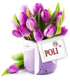 TM POLI поздравляет с Международным Женским Днем! ❤️