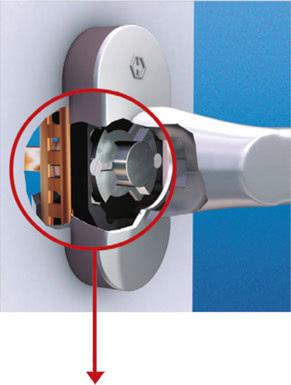 Ручка secustik с повышенной безопасностью на Ваши окна и двери