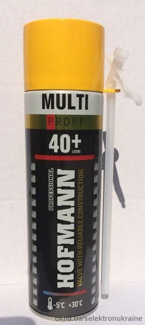 И снова новинка — монтажная пена Hofmann MULTI 340 ml!