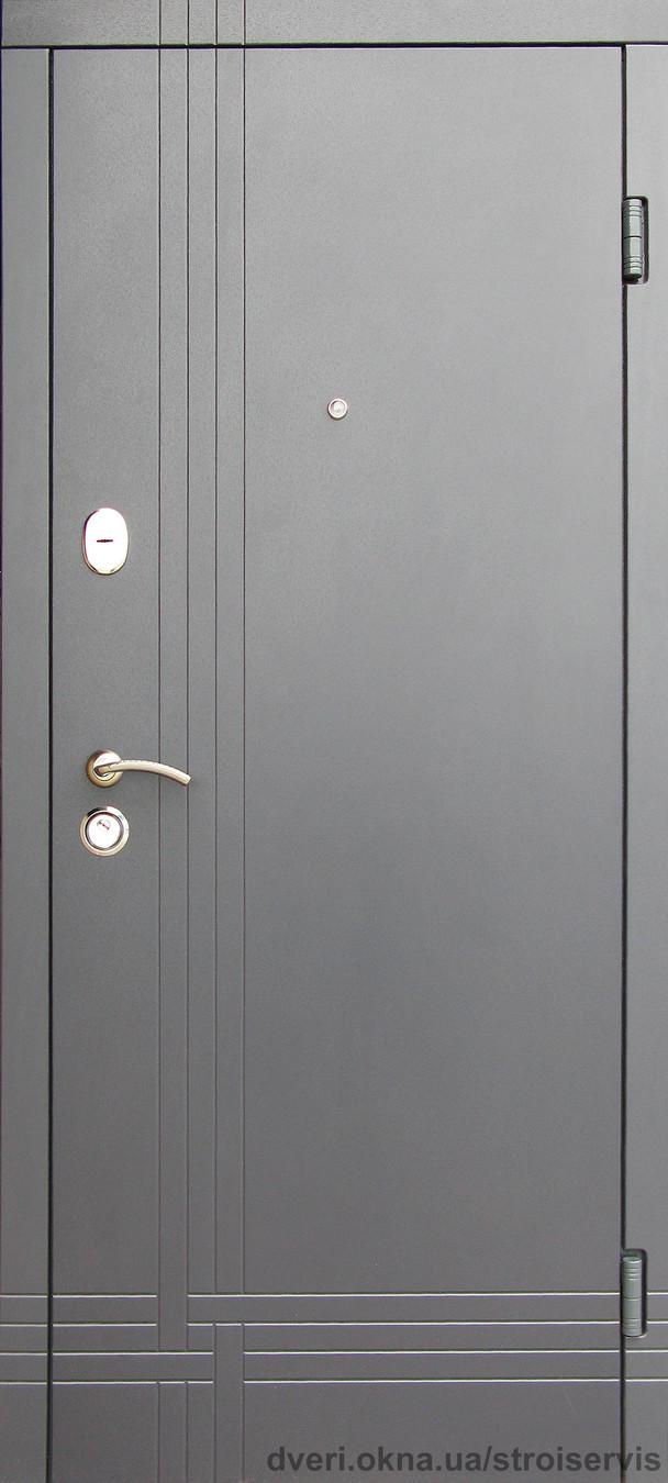 Новинка! Наружные входные двери Редфорт Сити Лайт винорит на улицу