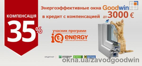 Goodwin стал участником программы IQ energy