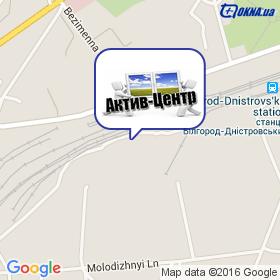 Актив-Центр на карте